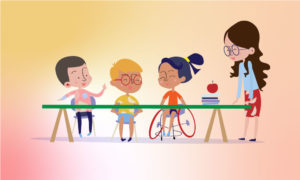 Special education means the special educational arrangements which are imparted for children with disabilities